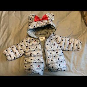 GAP Disney baby winter coat 6-12m